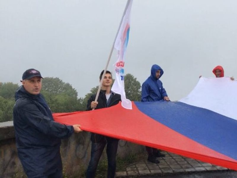 ОНФ в Северной Осетии отметил День флага восхождением на Лысую гору