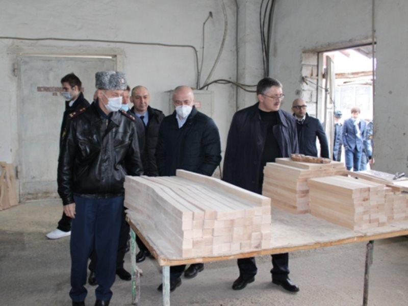 Делегация предпринимателей посетила ФКУ ИК-1