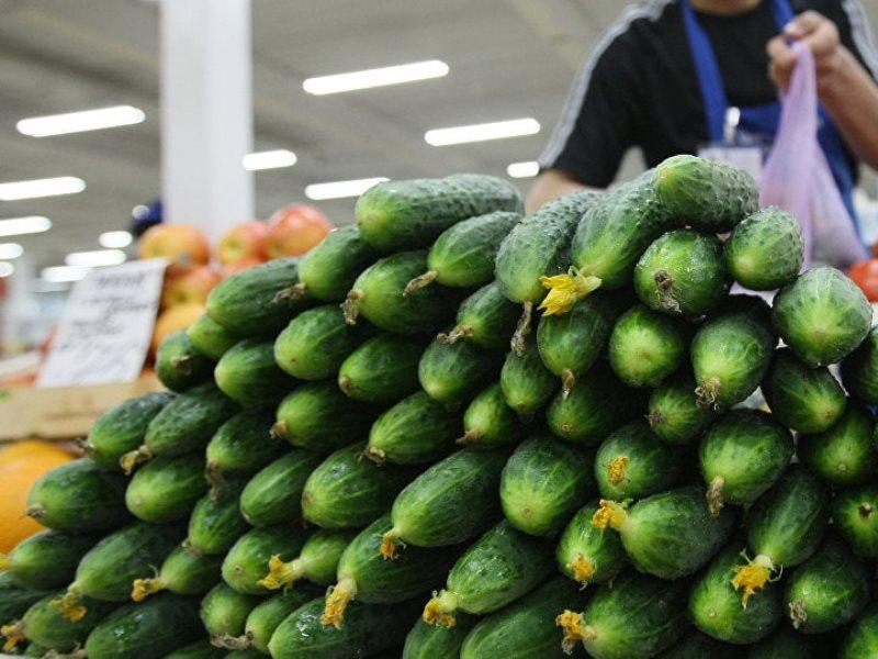 В январе в Северной Осетии стали дешевле огурцы и яблоки