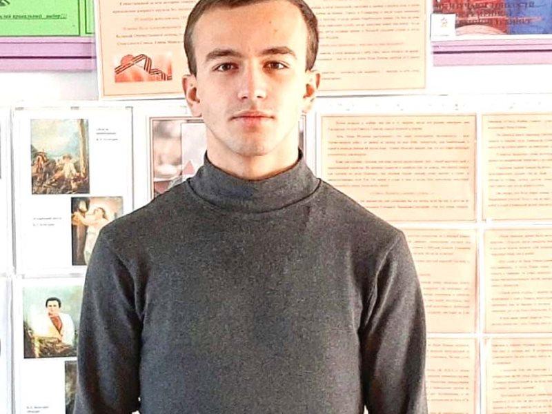 Студент Эльхотовского колледжа стал призером всероссийского конкурса